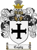 Primary image for Coply Family Crest / Coat of Arms JPG or PDF Image Download