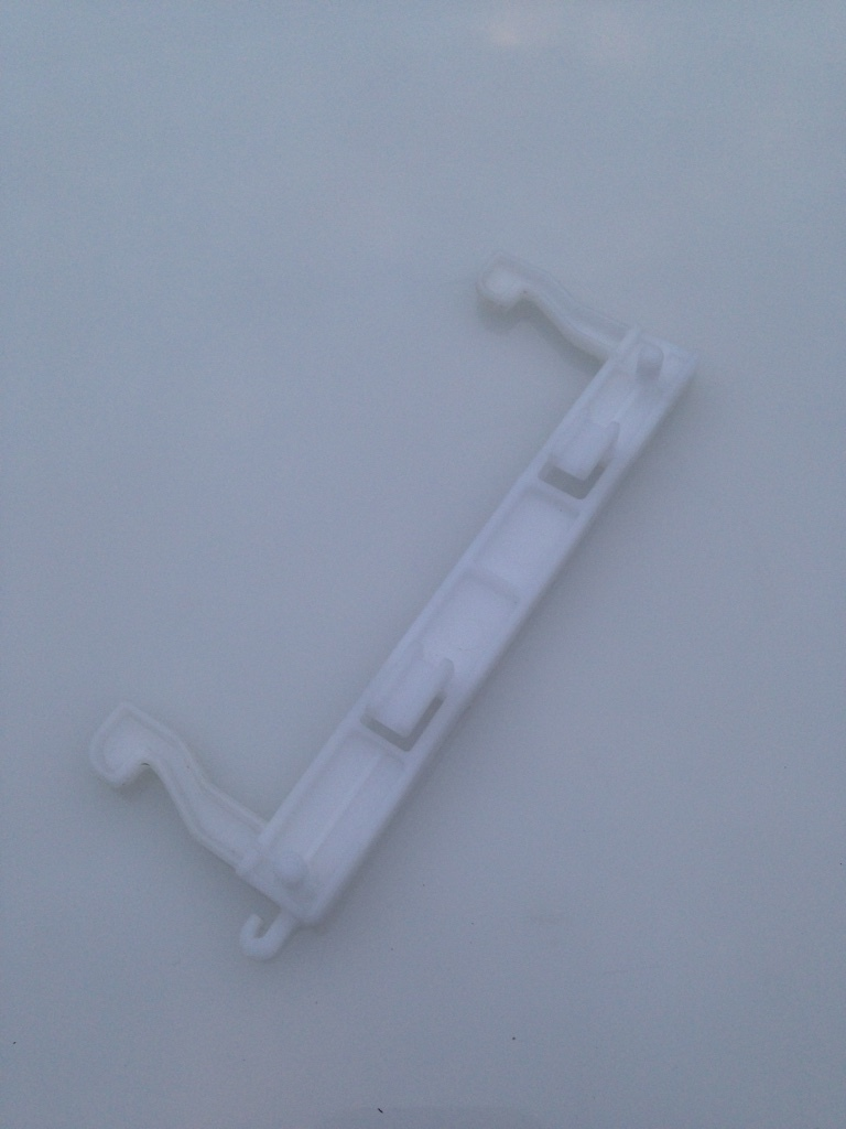 Samsung Microwave Oven OEM Door Latch Hook Key DE64-40006A - $11.90