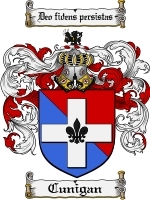Primary image for Cunigan Family Crest / Coat of Arms JPG or PDF Image Download