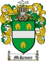 Mckenney Family Crest / Coat of Arms JPG or PDF Image Download - $6.99