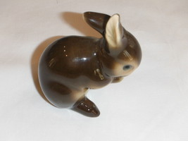 Vintage Goebel West Germany Brown Bunny Rabbit Figurine - $19.99