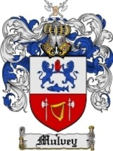 Mulvey Family Crest / Coat of Arms JPG or PDF Image Download - $6.99