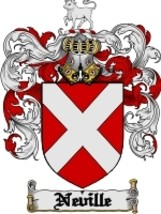 Neville Family Crest / Coat of Arms JPG or PDF Image Download - $6.99