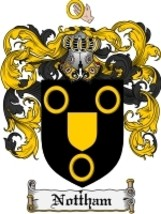 Nottham Family Crest / Coat of Arms JPG or PDF Image Download - $6.99
