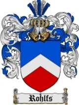 Rohlfs Family Crest / Coat of Arms JPG or PDF Image Download - $6.99