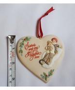 Hallmark Christmas Ornament Sister to Sister 2000 - Girls on Sled  pre-o... - $14.03