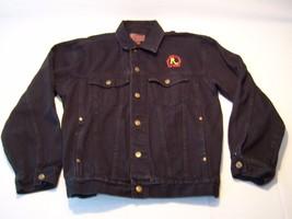 Vintage Riviera Hotel & Casino Embroidered Button Up Denim Jacket Men's ... - $49.49