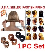 #4 French Hair Bun Updo Fold, Wrap & Snap Styling Tool+ Free gift - $8.99