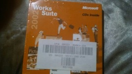 Works Suite 2002, PC new sealed - $11.00