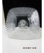Clear glass Pedestal Cake Plate Diamond 650 Smith Glass rare htf - $74.25