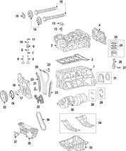 Genuine Mercedes-Benz Rear Main Seal Retainer 270-010-00-68 - $33.01