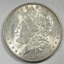 1889-P Silver Morgan Dollar UNC+ Coin AG525 - $47.34