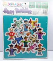 Golden Books Frame Tray Puzzle 10830 Sort-A-Silly Mix 'n' Match Busy Bud... - $19.99