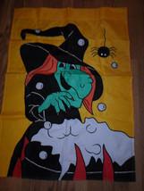Halloween Witch Garden Flag - $21.18 CAD