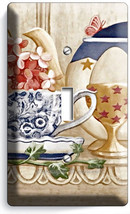 RUSTIC COUNTRY KITCHEN PANTRY DISHES SINGLE LIGHT SWITCH WALL PLATE COVE... - $8.09