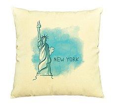 Vietsbay New York Prints Cotton Decorative Pillows Cover Cushion Case VPLC - €12,24 EUR