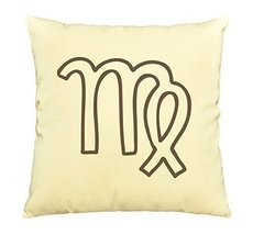 Vietsbay Virgo Sign Prints Cotton Decorative Pillows Cover Cushion Case ... - €12,24 EUR