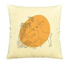 Vietsbay Virgo Zodiac Sign Prints Decorative Pillows Cover Cushion Case ... - €12,24 EUR