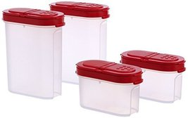 TP-540-T128 Tupperware Modular Spice Shakers Set of 4 - $16.81