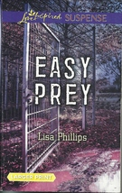 Easy Prey Lisa Phillips (Love Inspired Large Print Suspense) Paperback Book - $2.25