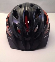 Huffy ROCK IT Bicycle Helmet Black Orange Ride Safety Adjustable Kids Ch... - $21.28