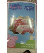 Peppa Pig 4 Piece Twin/Single Size Comforter an... - $70.00