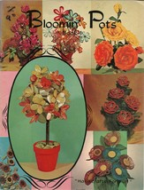 Bloomin' Pots HP145 Floral Craft Book 1 Handicrafts For Fun - $9.98