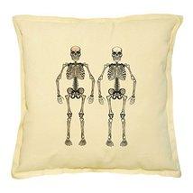 Vietsbay's Skeleton Prints Khaki Decorative Throw Pillows Cover Case VPLC - €13,99 EUR