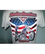 Harley-Davidson Cafe Gray T-Shirt Large Las Vegas, Nevada - $20.00