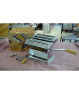 MARCATO ATLAS 150 PASTA MACHINE NOODLE MAKER w/ TABLE CLAMP made in ITAL... - $29.69
