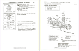 1984 Mitsubishi Montero Factory Repair Service Manual MSSP-004B-84 - $15.00