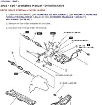 2000 Mazda 626 Factory Repair Service Manual - $15.00