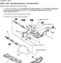 2000 Mazda 626 Factory Repair Service Manual - $15.00