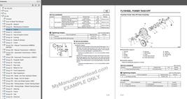 1986-1987 Mitsubishi FUSO FK FM Factory Repair Service Manual TWME8514 - $15.00