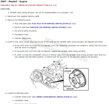 2007 Mazda3 & Mazdaspeed3 Factory Repair Service Manual - $15.00