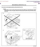 2013 Mazda CX-5 SkyActiv Gas Diesel Factory Repair Service Manual - $15.00