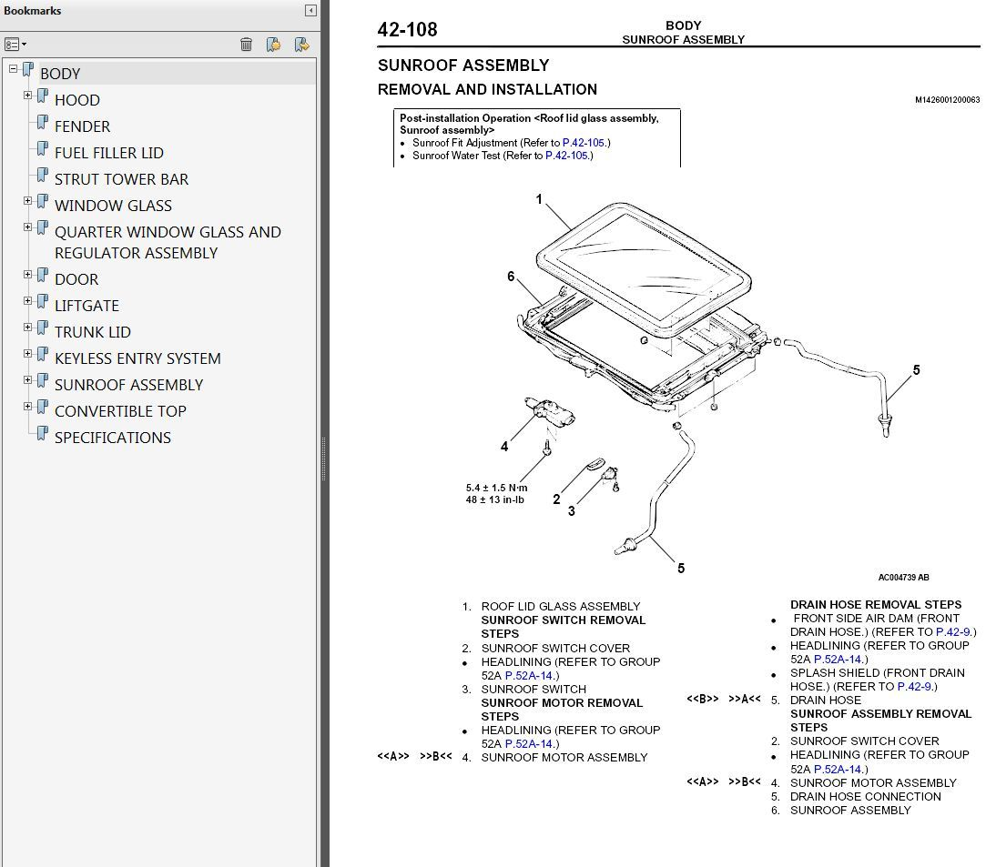 2000-2002 Mitsubishi Eclipse Service Manual