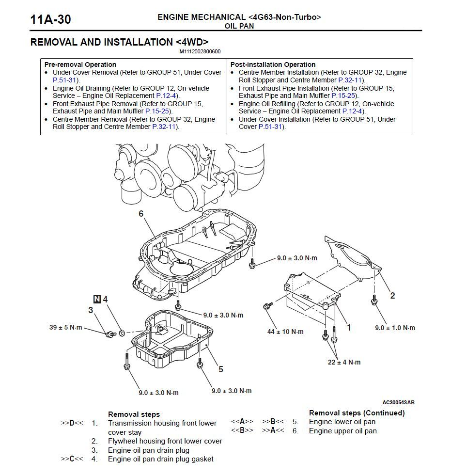 2007 Mitsubishi Outlander Europe Factory Repair Service Manual
