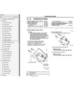 1999-2000 Mazda Miata MX-5 Factory Repair Service Manual - $15.00