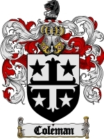 Coleman coat of arms download