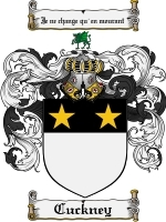 Primary image for Cuckney Family Crest / Coat of Arms JPG or PDF Image Download