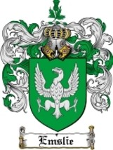 Emslie Family Crest / Coat of Arms JPG or PDF Image Download - $6.99