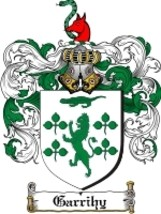 Garrihy Family Crest / Coat of Arms JPG or PDF Image Download - $6.99