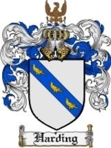 Harding Family Crest / Coat of Arms JPG or PDF Image Download - $6.99