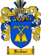 Kratzer Family Crest / Coat of Arms JPG or PDF Image Download - $6.99