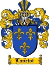 Lanctot Family Crest / Coat of Arms JPG or PDF Image Download - $6.99