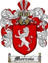 Morrow Family Crest / Coat of Arms JPG or PDF Image Download - $6.99