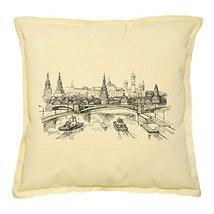 Vietsbay's Russian Landscape Prints Khaki Decorative Pillows Cover Case ... - €13,99 EUR