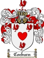 Primary image for Cocburn Family Crest / Coat of Arms JPG or PDF Image Download