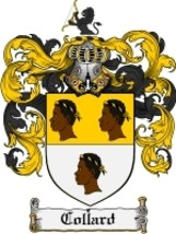 Collard Family Crest / Coat of Arms JPG or PDF Image Download - $6.99